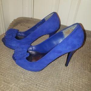 Steve Madden Shoes - Royal blue Steve Maddens 7.5